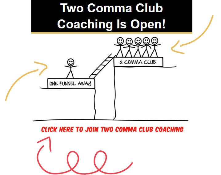 join two comma club coaching
